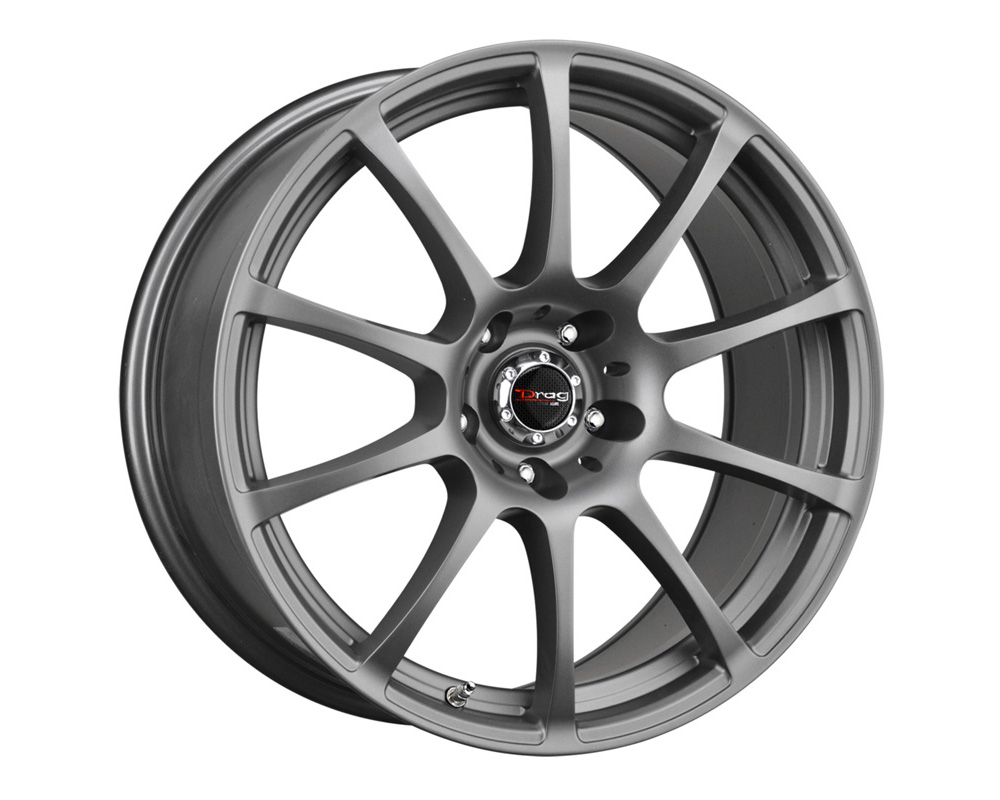 Drag DR-49 Charcoal Gray Full Painted 18x9 5x114.3 28mm - DR49189062873GMF1