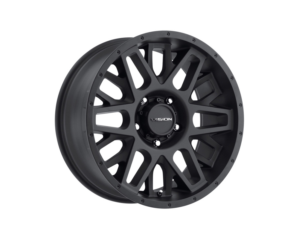 Vision Shadow Satin Black Wheel 20x10 6x135 -25mm - 388-20036SB-25