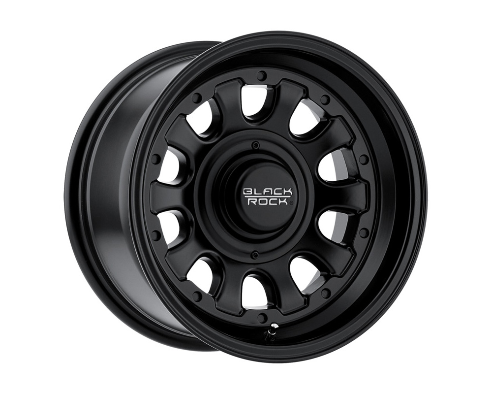 Black Rock Wheels D Window Matte Black Wheel 15x8 5x127/139.7 -12mm - 909B585340