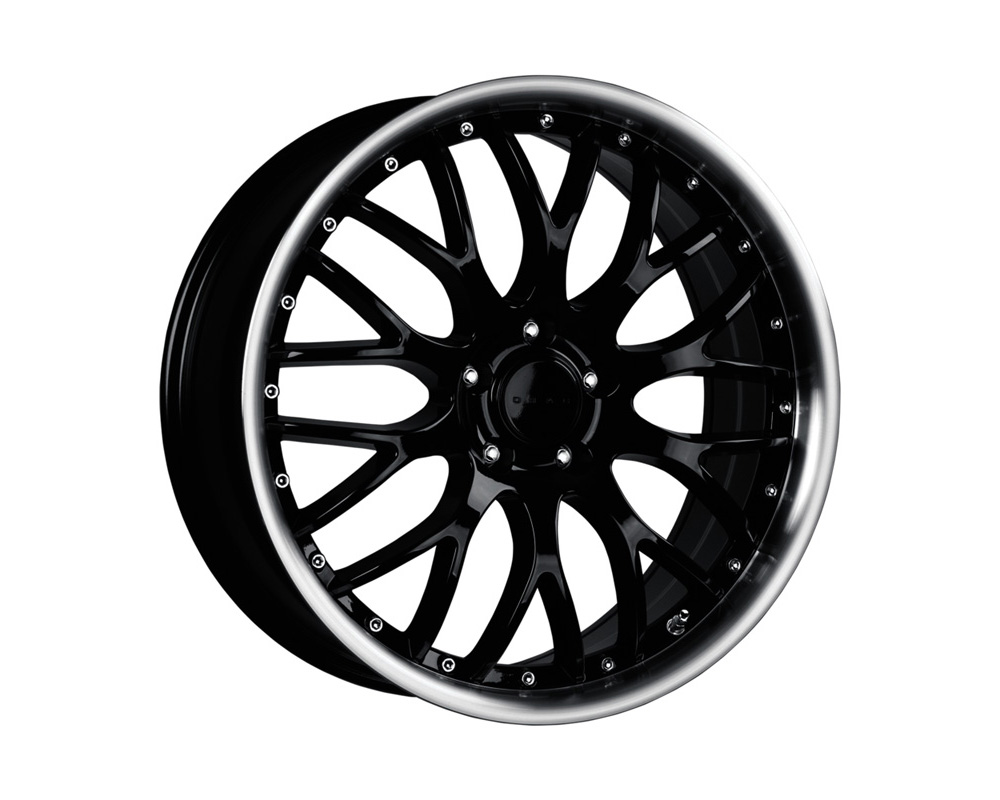 Drag DR-75 Gloss Black Machined Lip 20x8.5 5x120 30 - DR752085233074GB