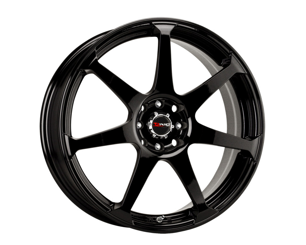 Drag DR-33 Gloss Black Full Painted 15x7 4x100/114.3 40 - DR33157044073GB1