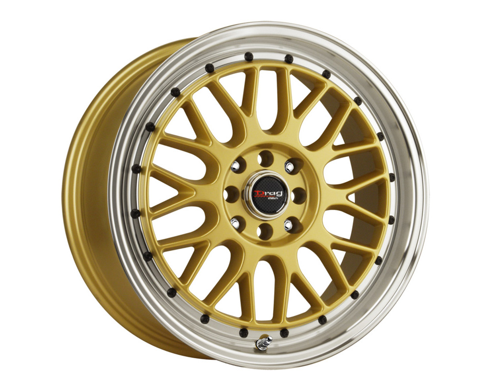 Drag DR-44 Gold Machined Lip 15x7 4x100/114.3 40mm - DR44157044073GD