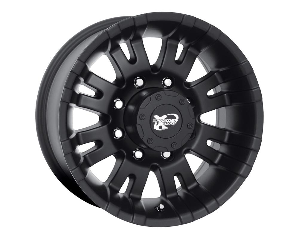 Pro Comp 01 Series Satin Black Wheel 16x8 6x139.7 0 - 5001-6883