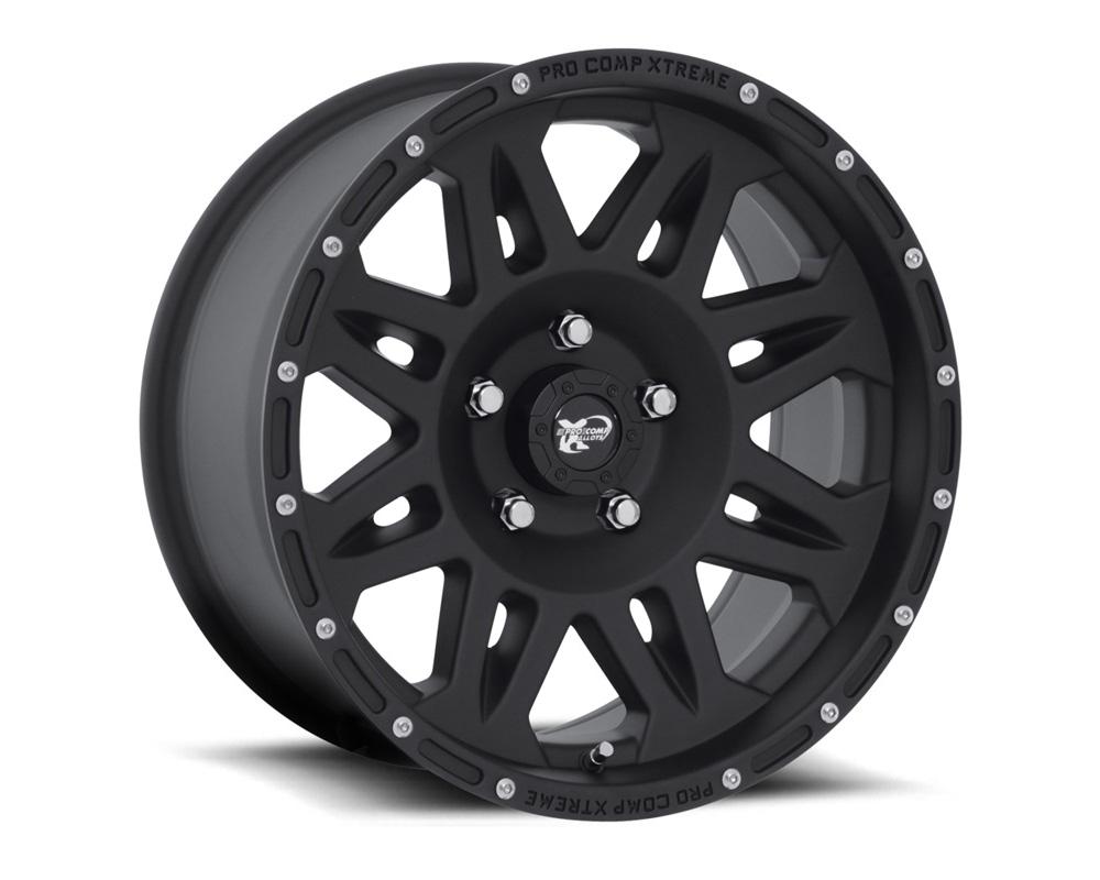 Pro Comp 05 Series Flat Black Wheel 17x9 5x127 -6mm - 7005-7973