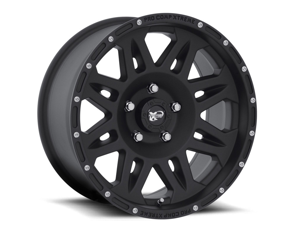 Pro Comp 05 Series Flat Black Wheel 17x9 6x135 -6 - 7005-7936