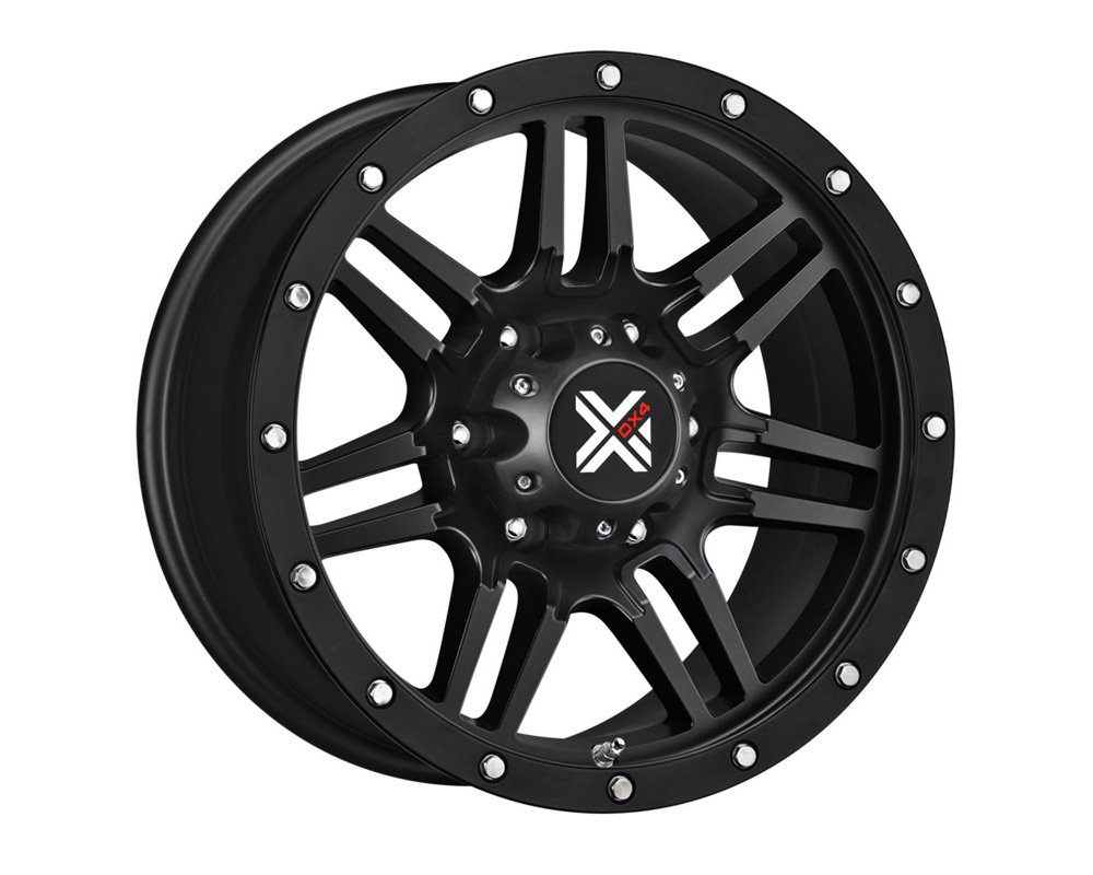 DX4 7S Flat Black Full Painted Wheel 16x8.5 5x114.3 18 - DT-77541