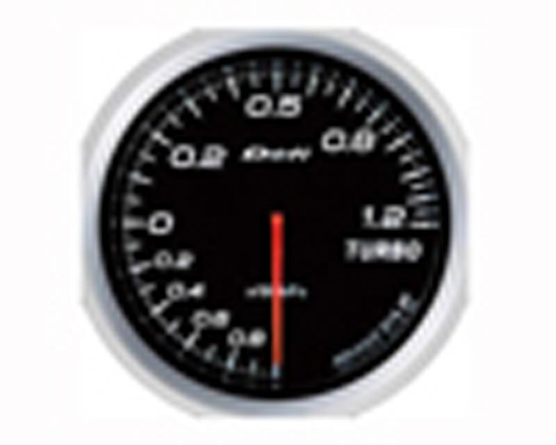 Image of Defi Advance BF 60mm 18psi Boost Gauge - White