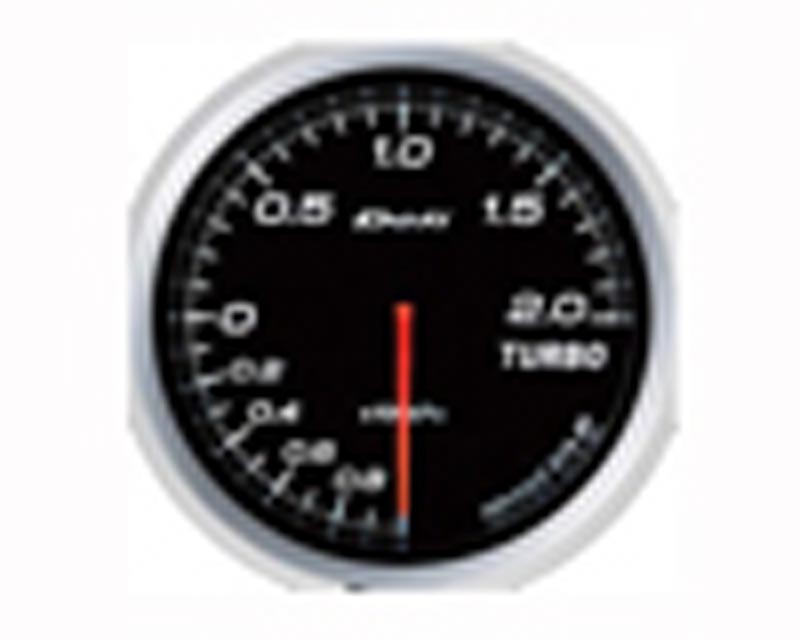 Image of Defi Advance BF 60mm 30psi Boost Gauge - White