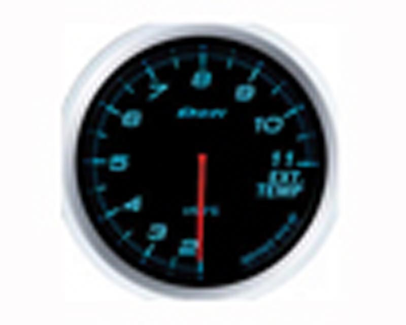 Image of Defi Advance BF 60mm Exhaust Temp Gauge - Blue
