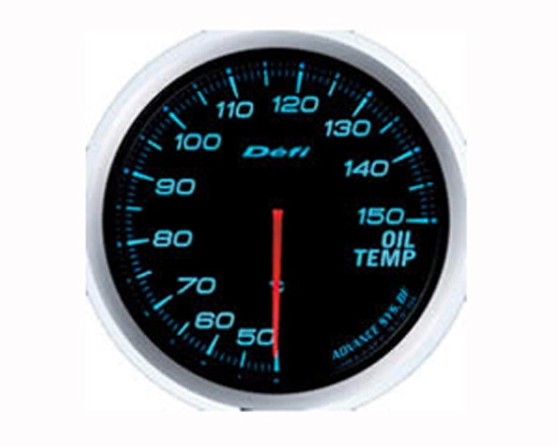 Defi Advance BF 60mm Oil Temp Gauge - Blue - DF10403