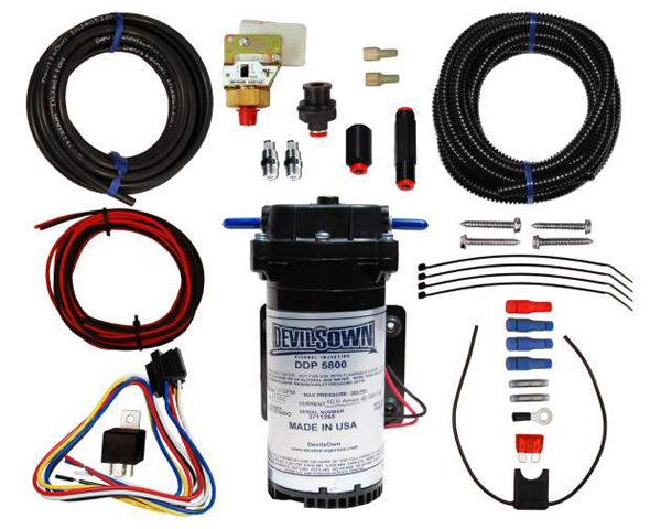 Image of DevilsOwn Stage 1 Gasoline Universal High Boost Injection Kit 6-30psi