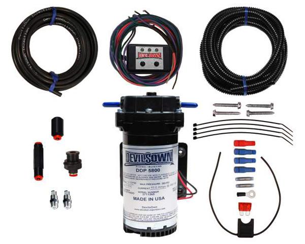 DevilsOwn Stage 2 Gasoline Universal Injection Kit w/0-5 Volt Input Controller - DO-5104