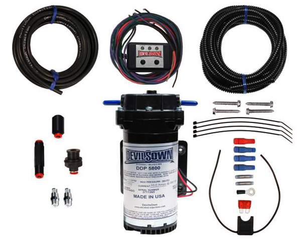 Image of DevilsOwn Stage 2 Gasoline Universal DVC-30 Injection Kit 0-30psi