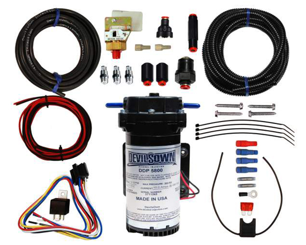 Image of DevilsOwn Stage 1 Diesel Universal Injection Kit 6-30psi