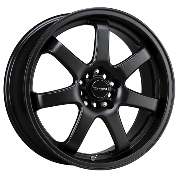 Drag DR-35 Flat Black Full Painted Wheel 17x8 4x100/114.3 42 - DT-22861
