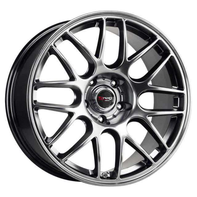 Drag DR-37 Flat Black W/Machined Face Wheel 17x8 5x120.0 42 - DT-61435
