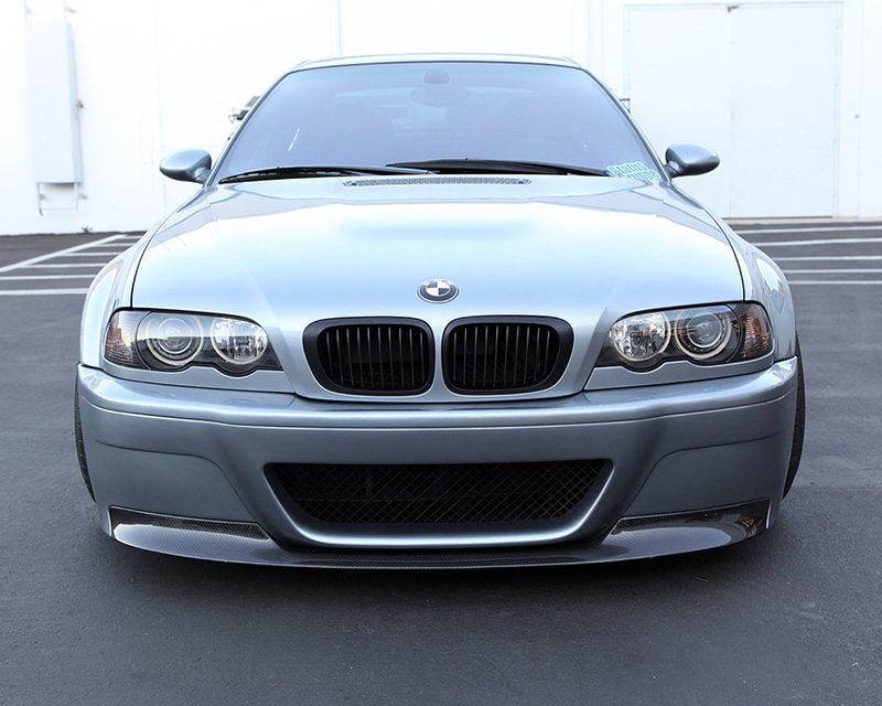 Status Gruppe Csl Style Front Bumper Shaved Version 1x1 Race Lip Bmw E46 M3 01 06