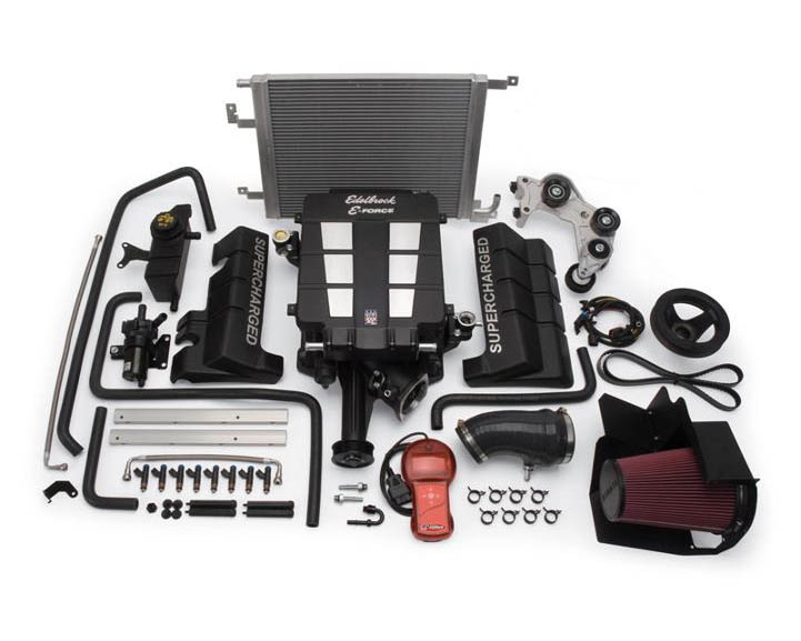 Edelbrock E-Force Competition Supercharger Kit Dodge Magnum SRT8 06-08