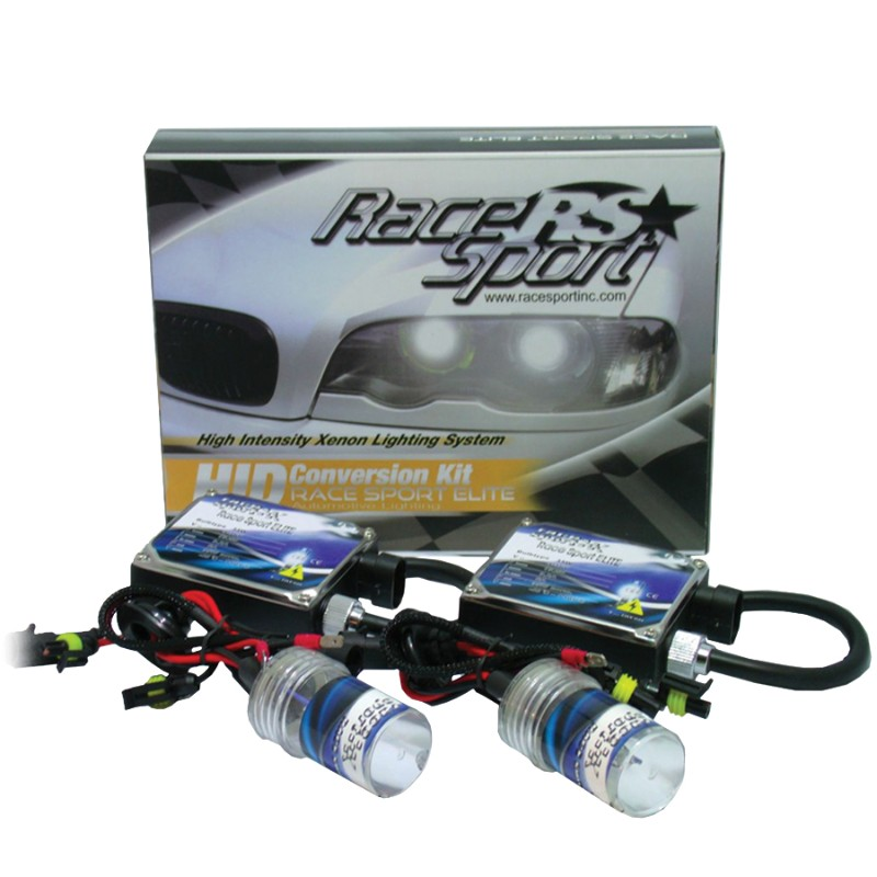 Race Sport Lighting 9006 HID 8K AC Regular Ballast Kit - 9006-8K-SB