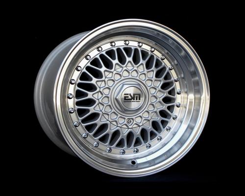 Image of ESM Wheels Silver ESM-002R Wheel 16x8 4x100 20mm