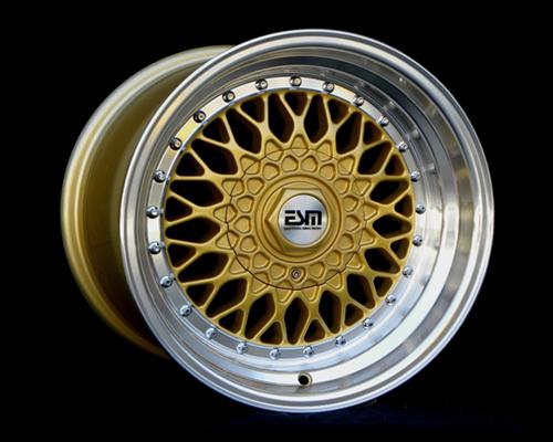 Image of ESM Wheels Gold ESM-002R Wheel 16x8 4x100 15mm