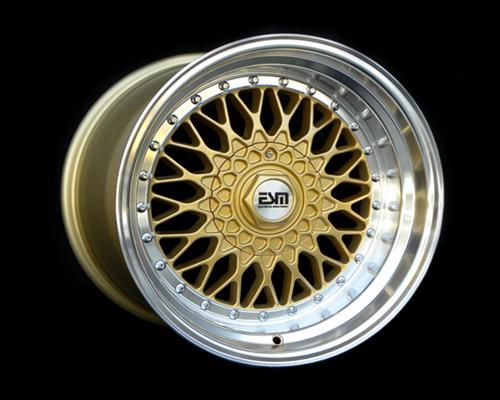 Image of ESM Wheels Gold ESM-002R Wheel 17x10 4x100 15mm
