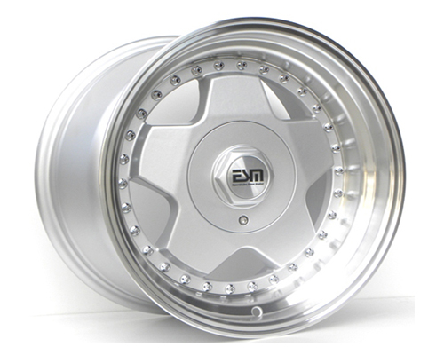 Image of ESM Wheels Silver ESM-009R Wheel 16x8 4x100 20mm