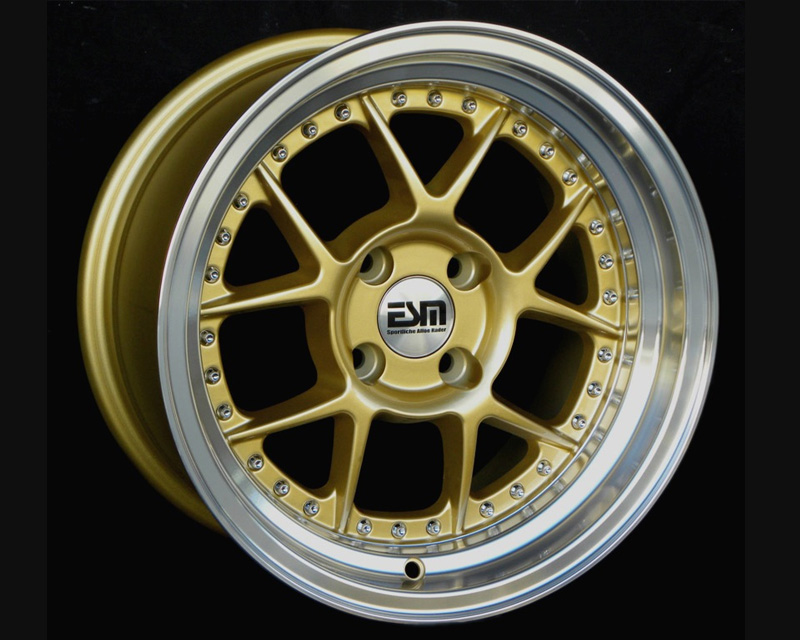 Image of ESM Wheels Gold ESM-010 Wheel 15x8 4x100 15mm