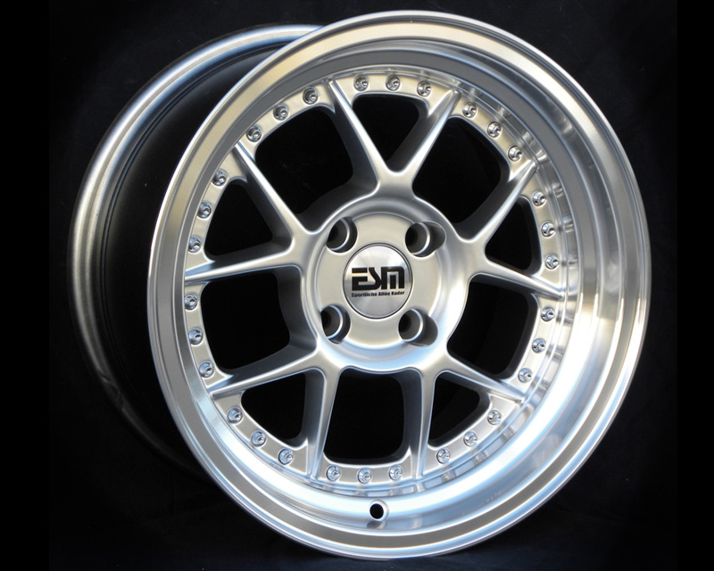 Image of ESM Wheels Hyper Silver ESM-010 Wheel 15x8 4x100 15mm