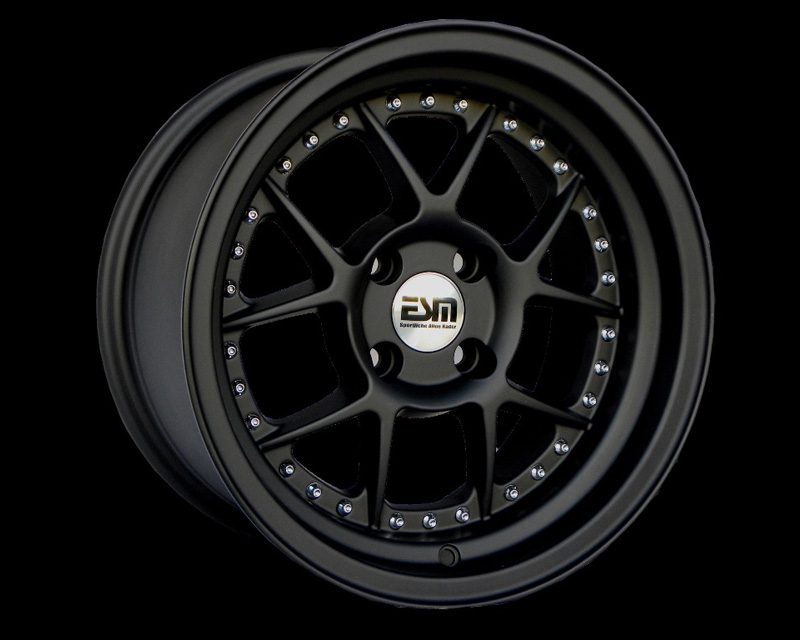 Image of ESM Wheels Matte Black ESM-010 Wheel 15x8 4x100 15mm