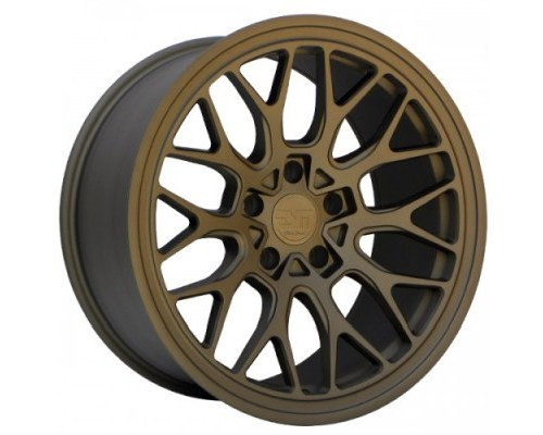 ESM Wheels Motorsports Matte Bronze ESM-FF1 Flow Formed Wheel 18x9.5 5x120 +22mm - ESM-FF1MMB18X95-5X120+22
