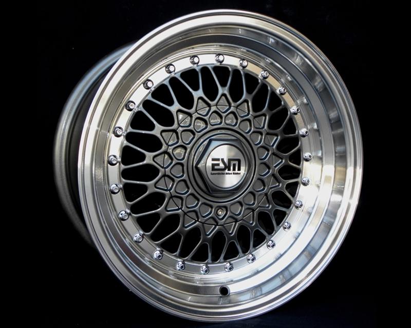 Image of ESM Wheels Gunmetal ESM-002R Wheel 18x8.5 5x1005x112 35mm