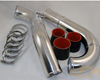 Image of JM Fabrications Aluminum 3.0 Upper Intercooler Pipe Kit Mitsubishi Lancer Evolution VII VIII IX 03-08