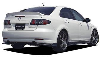 AutoExe Rear Under | Diffuser 01 Mazda 6 03-08 - EXE41111340001