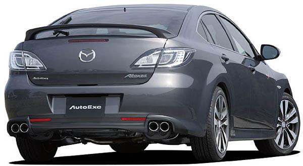 AutoExe Rear Under | Diffuser 01 Mazda 6 09-13 - EXE41121340001