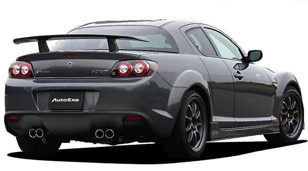 AutoExe Rear Wing   Rear Spoiler 03 Mazda 04-11 - EXE41411410003