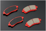 Image of AutoExe Brake Pad Front 01 Type B Mazda 2 08-13