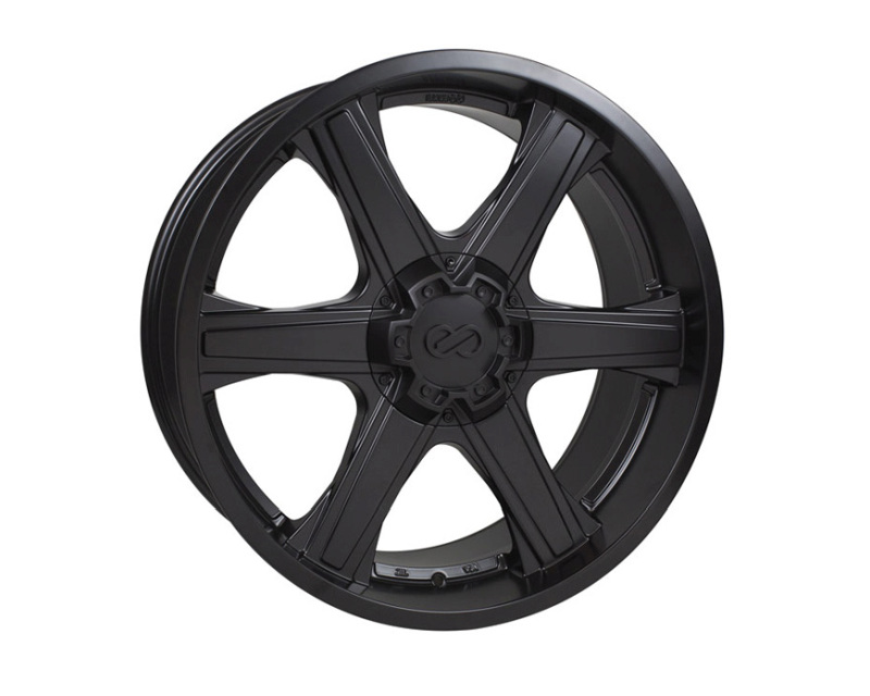 Enkei BLACKHAWK Wheel Truck & SUV Series Matte Black 22x9.5 6x139.7 15mm - 503-2295-8415BK