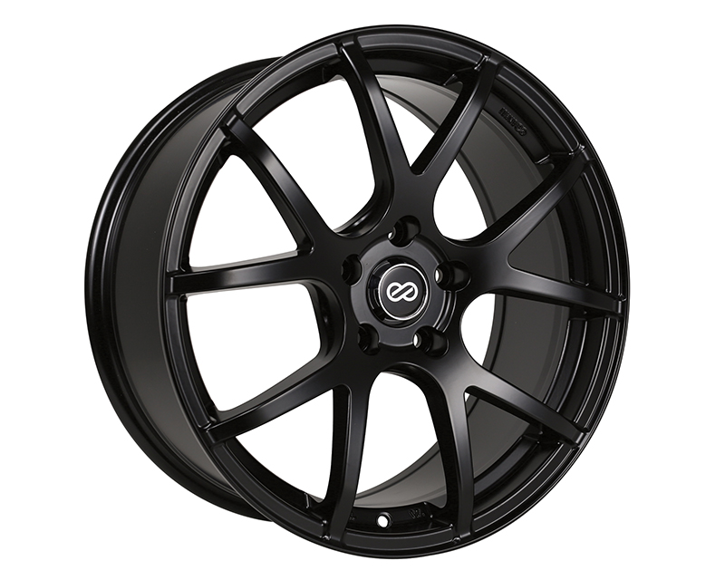 Enkei M52 Wheel Performance Series Black 18x8 5x114.3 50mm - 480-880-6550BK