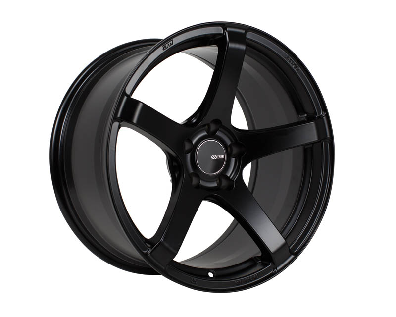 Enkei KOJIN Wheel Tuning Series Black 18x8 5x100 40mm - 476-880-8040BK