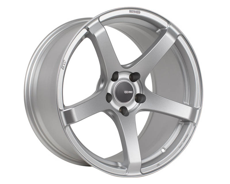 Enkei KOJIN Wheel Tuning Series Silver 18x8.5 5x114.3 25mm - 476-885-6525SP