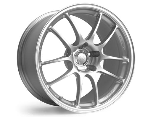 Image of Enkei PF01SS Silver Wheel 17x9 5x114.3 35mm