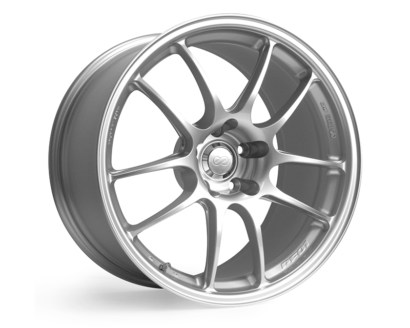 Enkei PF01 Wheel Racing Series Silver 17x7.5 5x100 38mm - 460-775-8038SP