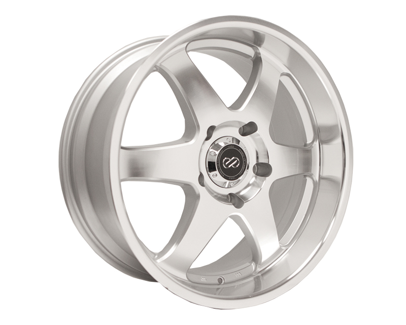 Enkei ST6 Wheel Truck & SUV Series Silver Machined 20x9.5 6x139.7 20mm - 470-295-8420SM