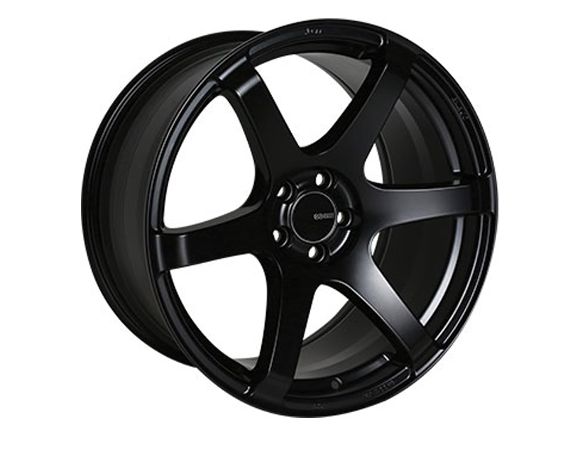 Enkei T6S Wheel Tuning Series Black 18x8.5 5x114.3 50mm - 485-885-6550BK