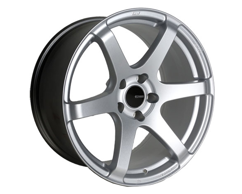 Enkei T6S Wheel Tuning Series Silver 18x8.5 5x114.3 25mm - 485-885-6525SP