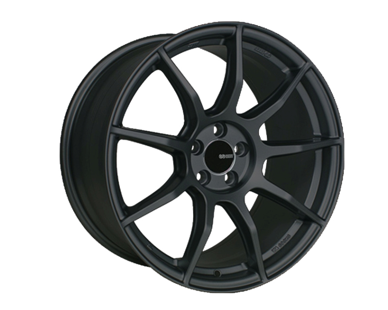 Enkei TS9 Wheel Tuning Series Black 18x9.5 5x114.3 30mm - 492-895-6530BK