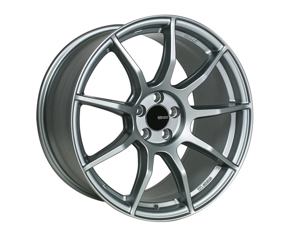 Enkei TS9 Wheel Tuning Series Platinum Gray 18x9.5 5x100 45mm - 492-895-8045GR