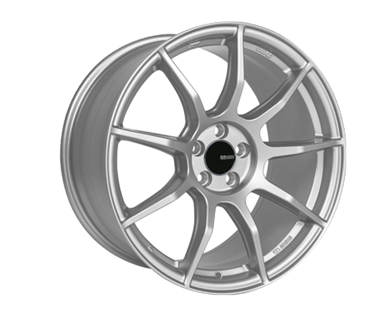 Enkei TS9 Wheel Tuning Series Silver 18x9.5 5x100 40mm - 492-895-8040SP