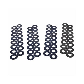 """PAC Racing Spring Spring Shims - 0.050"""" Thick - 1.250"""" OD - Steel (Set of 16) - PACPAC-S188"""